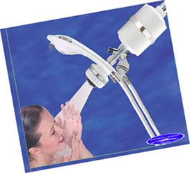 handheld and shower head combo shower filter white. Black Bedroom Furniture Sets. Home Design Ideas